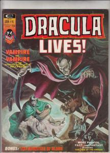 Dracula Lives #4 (Apr-73) VF/NM- High-Grade Dracula