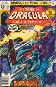 Tomb of Dracula (1972 series) #60, VF- (Stock photo)
