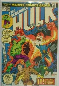 The Incredible Hulk #166 - 5.0 VG/FN - 1973