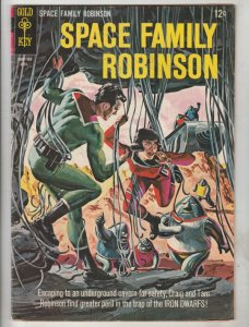 Space Family Robinson, Lost In Space #12 (Apr-65) FN/VF Mid-High-Grade Will R...