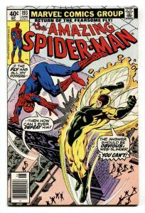 AMAZING SPIDER-MAN #193-comic book -Bronze Age-High Grade VF