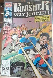 MARVEL COMIC-THE PUNISHER-WAR JOURNAL-#22-GREAT COMICBOOK FOR COLLECTORS-1990