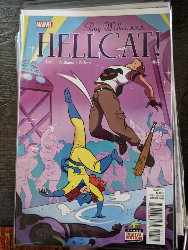 Patsy Walker, A.K.A. Hellcat! #4 (2016)