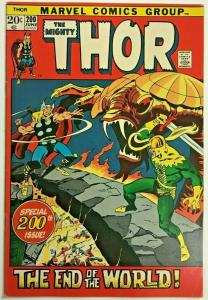 THOR#200 FN/VF 1972 MARVEL BRONZE AGE COMICS