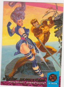1994 Fleer Ultra X-Men Card #112 X-Men: Blue Team