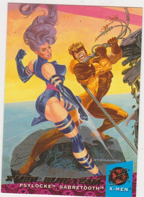 1994 Fleer Ultra X-Men Card #112 X-Men: Blue Team