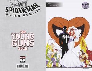 Symbiote Spider-Man Alien Reality #1 Del Mundo Young Guns Var (Marvel,2020) NM)