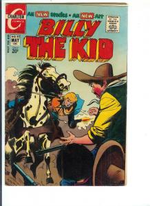 Billy The Kid,  #92 - Bronze Age - May, 1972 (FN)