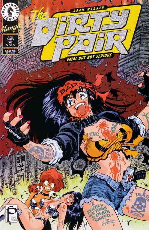 Dirty Pair, The: Fatal but Not Serious #5 VF/NM; Dark Horse | save on shipping -