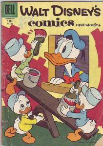 Comics and Stories, Walt Disney's #192 (Sep-56) GD Affordable-Grade Donald Du...