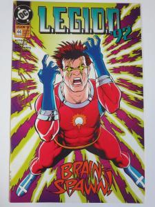 Legion of Superheroes #44 (DC 1992) Signed by Matt Batt Banning (1st Work)
