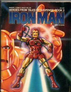 Heroes from Tales of Suspense Book 2 - Iron Man - Fanzine - 1978 - VF/NM