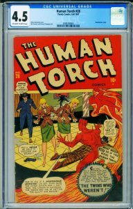 HUMAN TORCH #28 CGC 4.5-1947-SUB-MARINER-Timely 2089358005