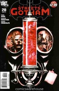 BATMAN: STREETS OF GOTHAM (2009 DC) #20 NM A94893