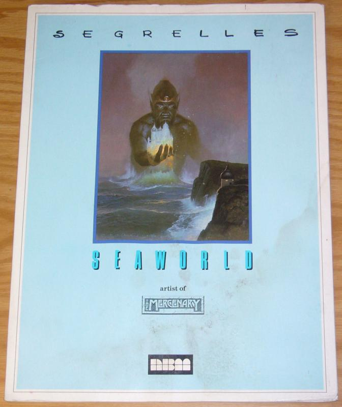 Seaworld portfolio by Segrelles (artist of the Mercenary) from NBM 1986