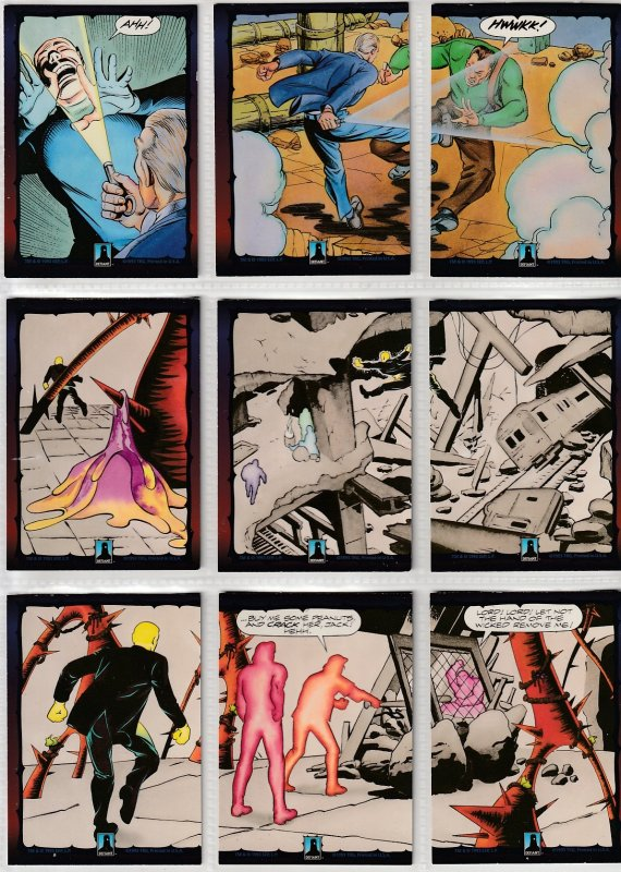 Dark Dominion # 0 Trading Cards  Rare Steve Ditko painted art ! 128 Cards !