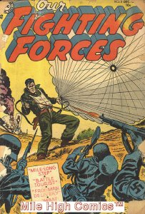 OUR FIGHTING FORCES (1954 Series) #2 Very Good Comics Book