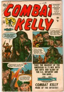 Combat Kelly #30 (Apr-55) VG Affordable-Grade Combat Kelly