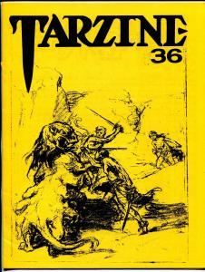 Tarzine #36 7/1985-Bill Ross-Edgar Rice Burroughs-Tarzan-collector info-VF