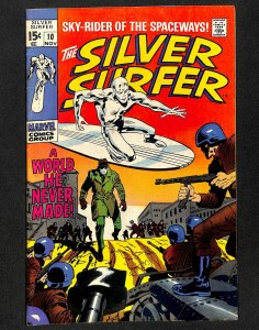 Silver Surfer #10 VG+ 4.5