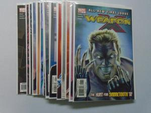 Weapon X (2nd Series) SET:#1-15, DIRECT EDITION 8.0/VF (2002)