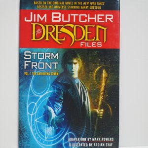 Storm Front Vol.1 The Dresden Files Hardcover Graphic Novel New and Unread