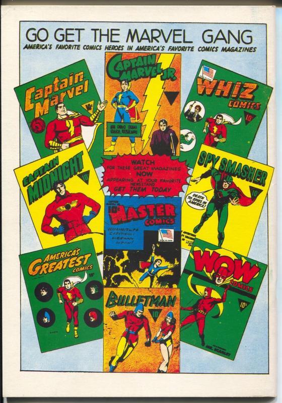 Flashback #17 1970's-Reprints Captain Marvel Jr. #1  from 1942-VF/NM