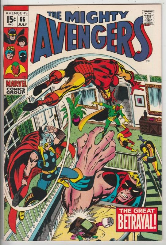 Avengers, The #66 (Feb-69) NM Super-High-Grade Avengers