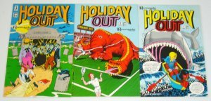 Holiday Out #1-3 VF/NM complete series - grass green - renegade press set lot 2