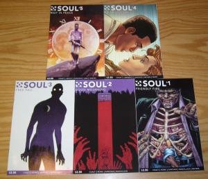 Soul #1-5 VF/NM complete series - night of the living dead - double take comics