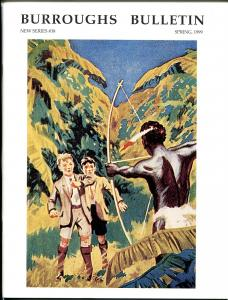 Burroughs Bulletin New Series #38 1999-ERB-Tarzan-Swalee-Douglas Grant-VF