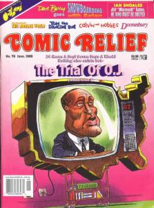 Comic Relief (magazine) #76 FN; Page One   save on shipping - details inside