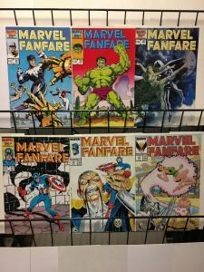 MARVEL FANFARE 28-33  Hulk, X Men, Northstar