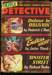 TRIPLE DETECTIVE 1949 SUM-PULP-ENDLESS NIGHT BY L. DENT FR