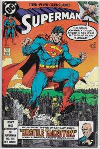 Superman (vol. 2, 1987) # 31 FN (Exile in Space) Mxyzptlk, Luthor