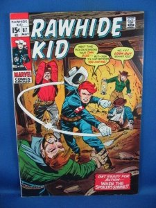 The Rawhide Kid #87 (May 1971, Marvel) VF