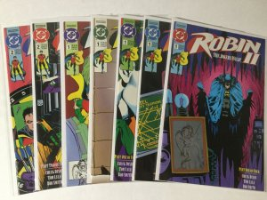 Robin II The Joker's Wild 1-4 1 2 3 4 With All Variants Lot Nm Near Mint Dc