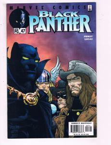 Black Panther # 47 VF 1st Print Marvel Knights Comic Book Avengers Storm FF J11