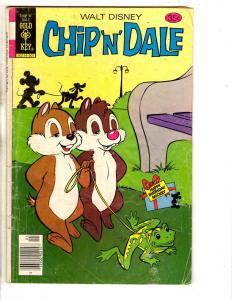 6 Gold Key Comics Chip N Dale # 56 47 42 Mickey Mouse # 184 181 Casper # 92 PP3