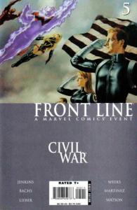 Civil War: Frontline #5, VF+ (Stock photo)