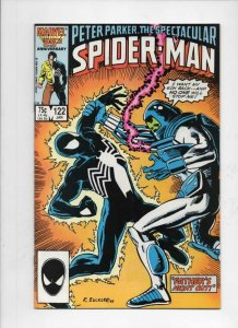 Peter Parker SPECTACULAR SPIDER-MAN #122 VF+, Father 1976 1987 more in store