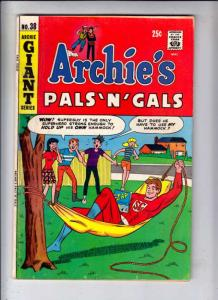 Archie's Pals 'n' Gals #38 (Sep-66) VG+ Affordable-Grade Archie, Betty, Veron...