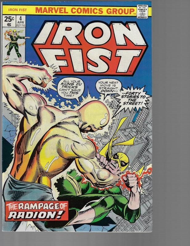 Iron Fist #4 (Marvel, 1976) NM-