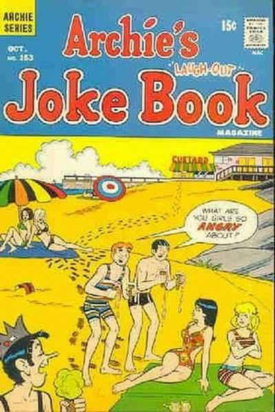 Archie's Joke Book Magazine #153, Fine (Stock photo)