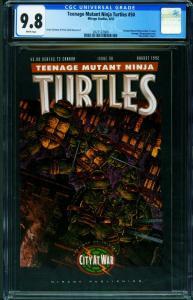 Teenage Mutant Ninja Turtles #50 CGC 9.8 1992-2021122009