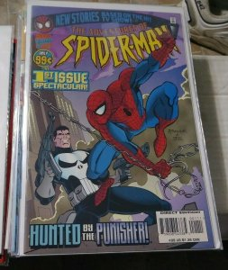 ADVENTRUES OF SPIDER-MAN # 1 1996 MARVEL ANIMATED  TV SHOW PUNISHER