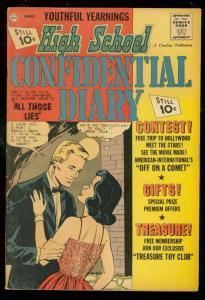 HIGH SCHOOL CONFIDENTIAL DIARY #11 1962-CHARLTON FN