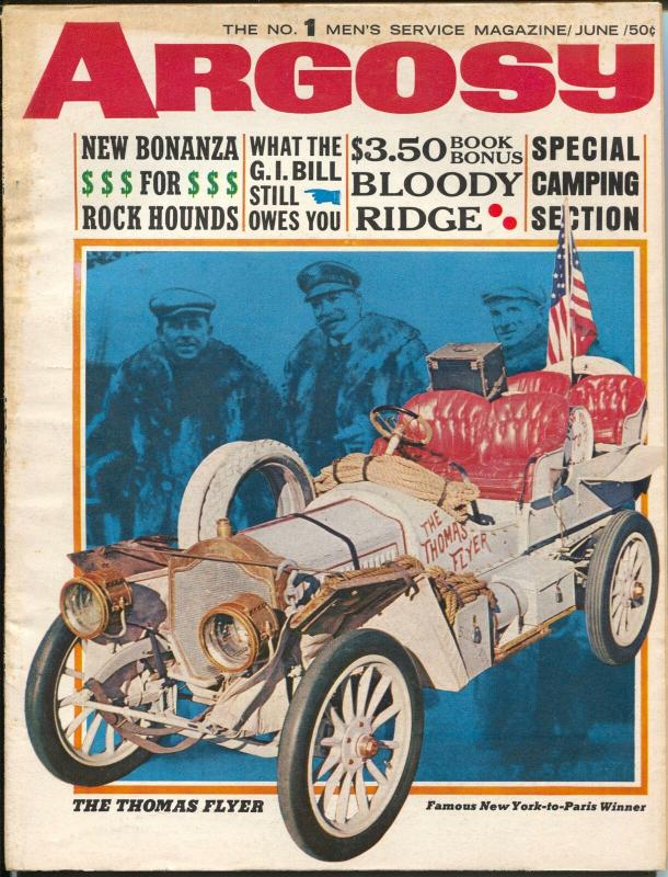 Argosy 6/1965-Thomas Flyer covers-Pontiac GTO-AMC Marlin-VG/FN