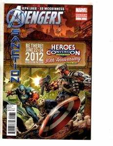 Avengers Sanction # 1 NM HEROES CON Variant Cover Marvel Comic Book 2012 TW62
