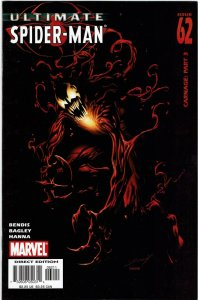 Ultimate Spider-Man #62 Brian Bendis Ultimate Carnage NM